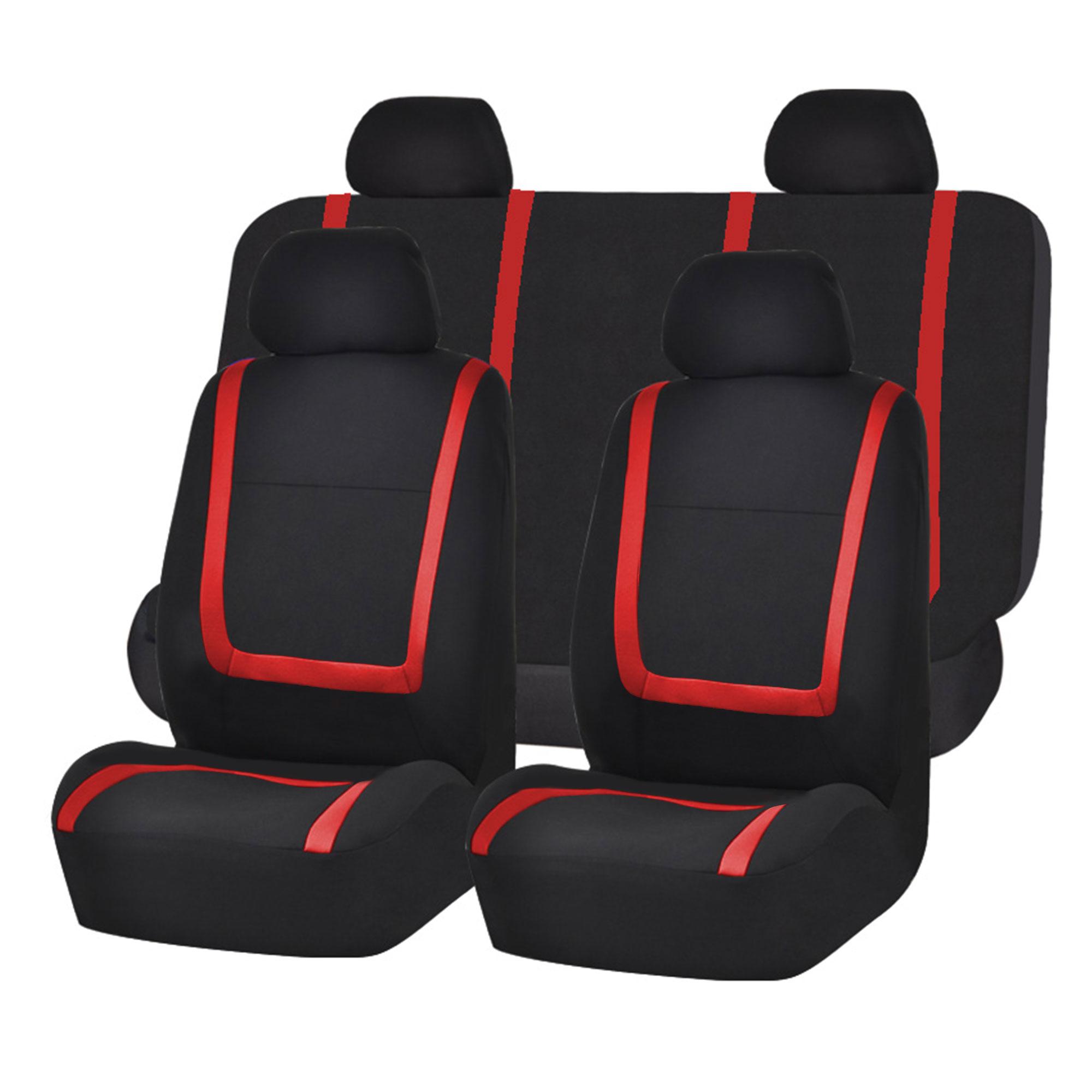 Universal Car Seat : Auto seat covers for car sedan truck van universal