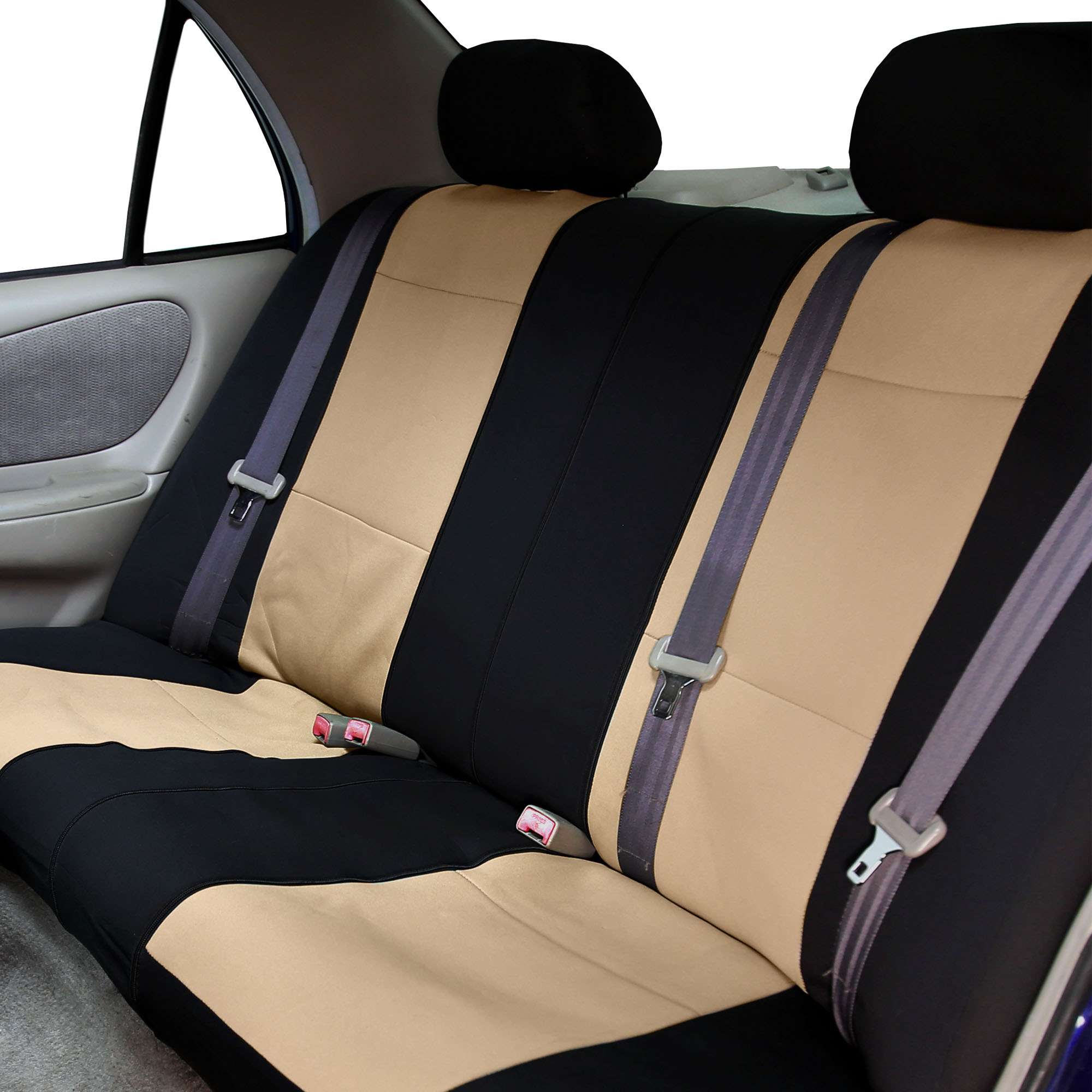 Car-Seat-Cover-Neoprene-Waterproof-Pet-Proof-Full-Set-Cover-With-Dash-Pad thumbnail 6