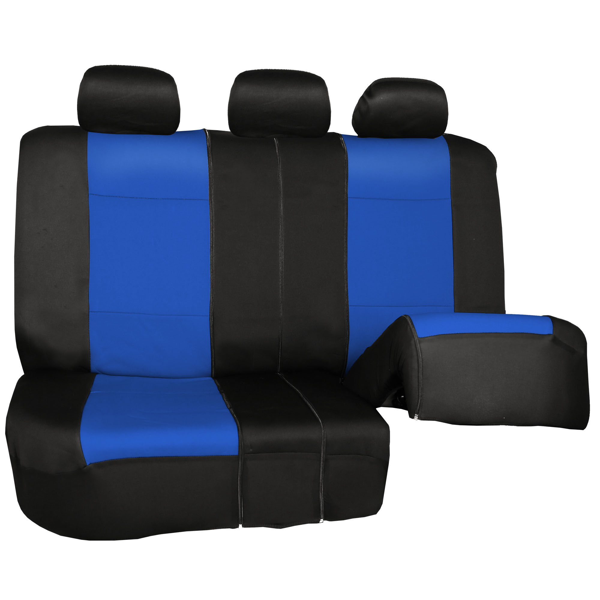 Car-Seat-Cover-Neoprene-Waterproof-Pet-Proof-Full-Set-Cover-With-Dash-Pad thumbnail 25