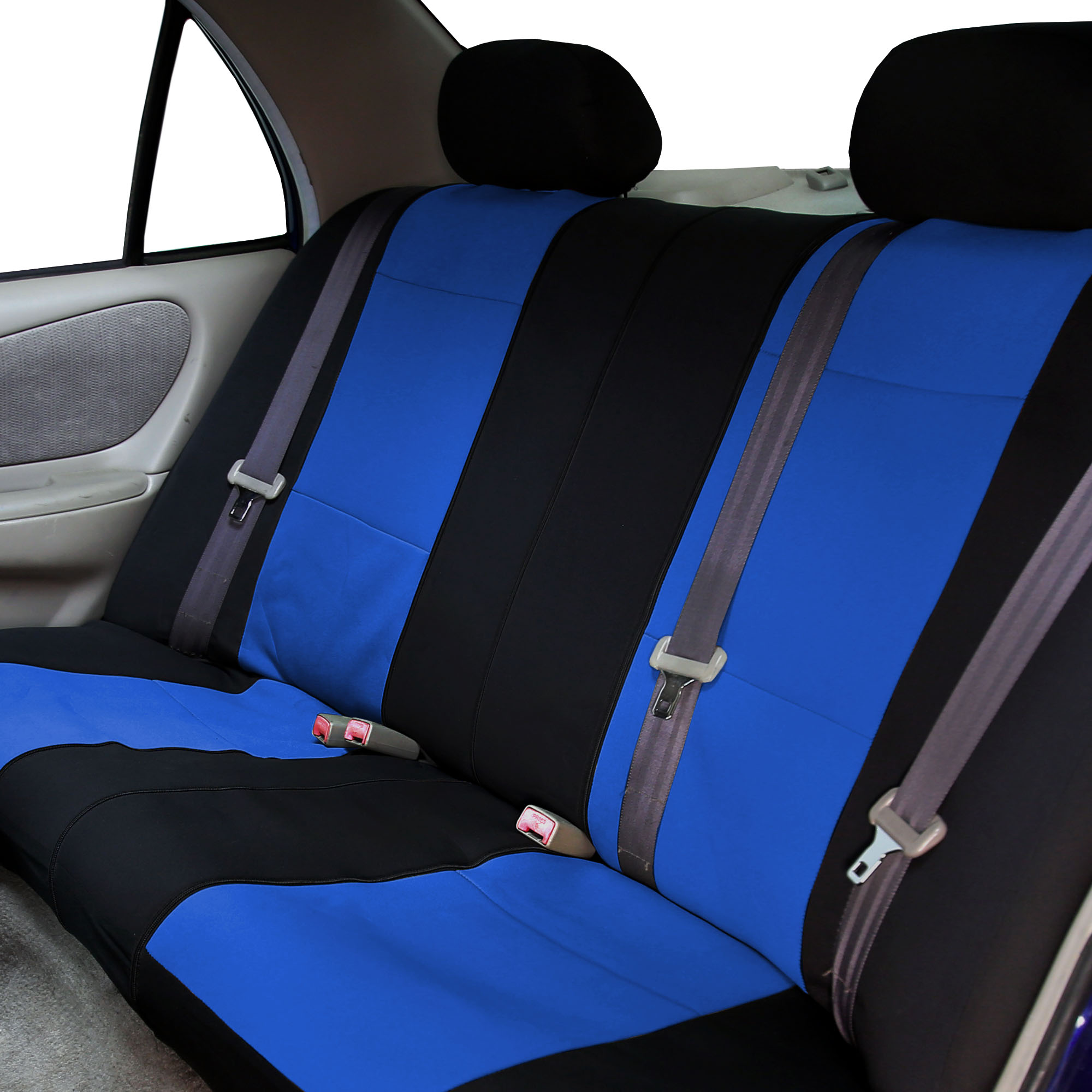 Car-Seat-Cover-Neoprene-Waterproof-Pet-Proof-Full-Set-Cover-With-Dash-Pad thumbnail 30