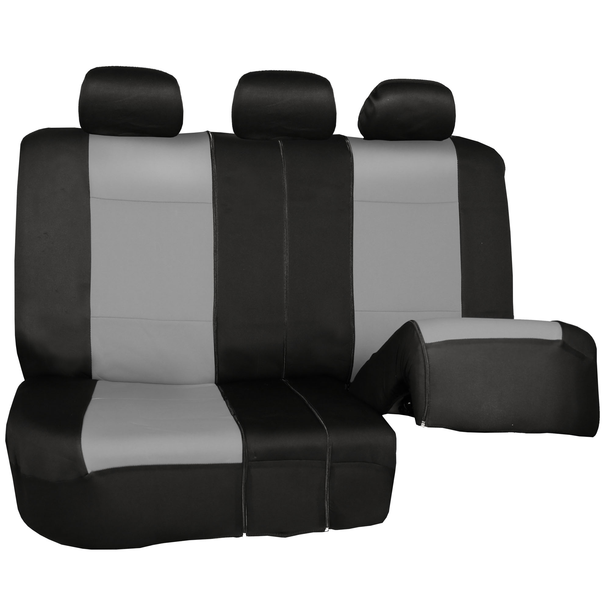 Car-Seat-Cover-Neoprene-Waterproof-Pet-Proof-Full-Set-Cover-With-Dash-Pad thumbnail 37