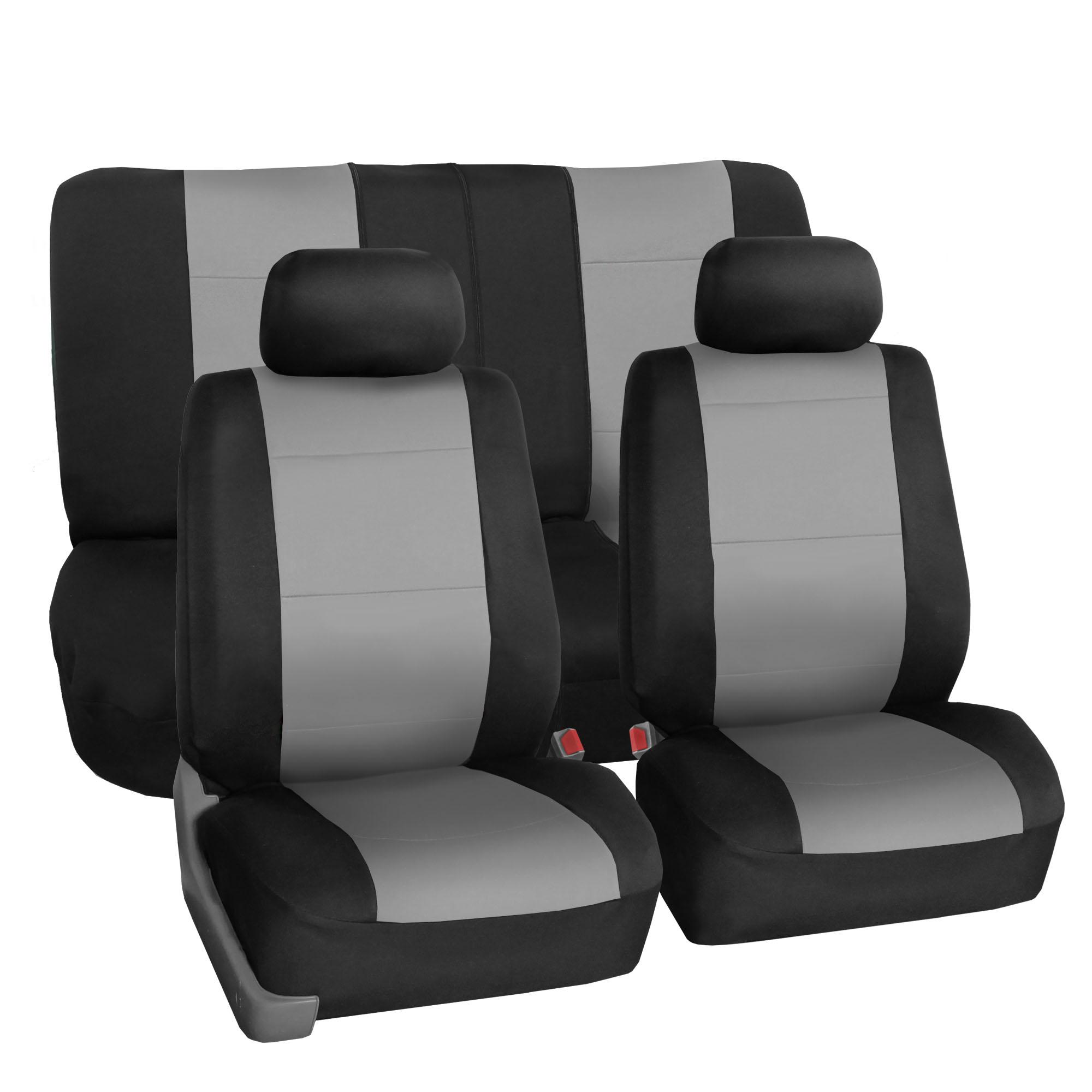 Car Seat Cover Neoprene Waterproof Pet Proof Full Set 2