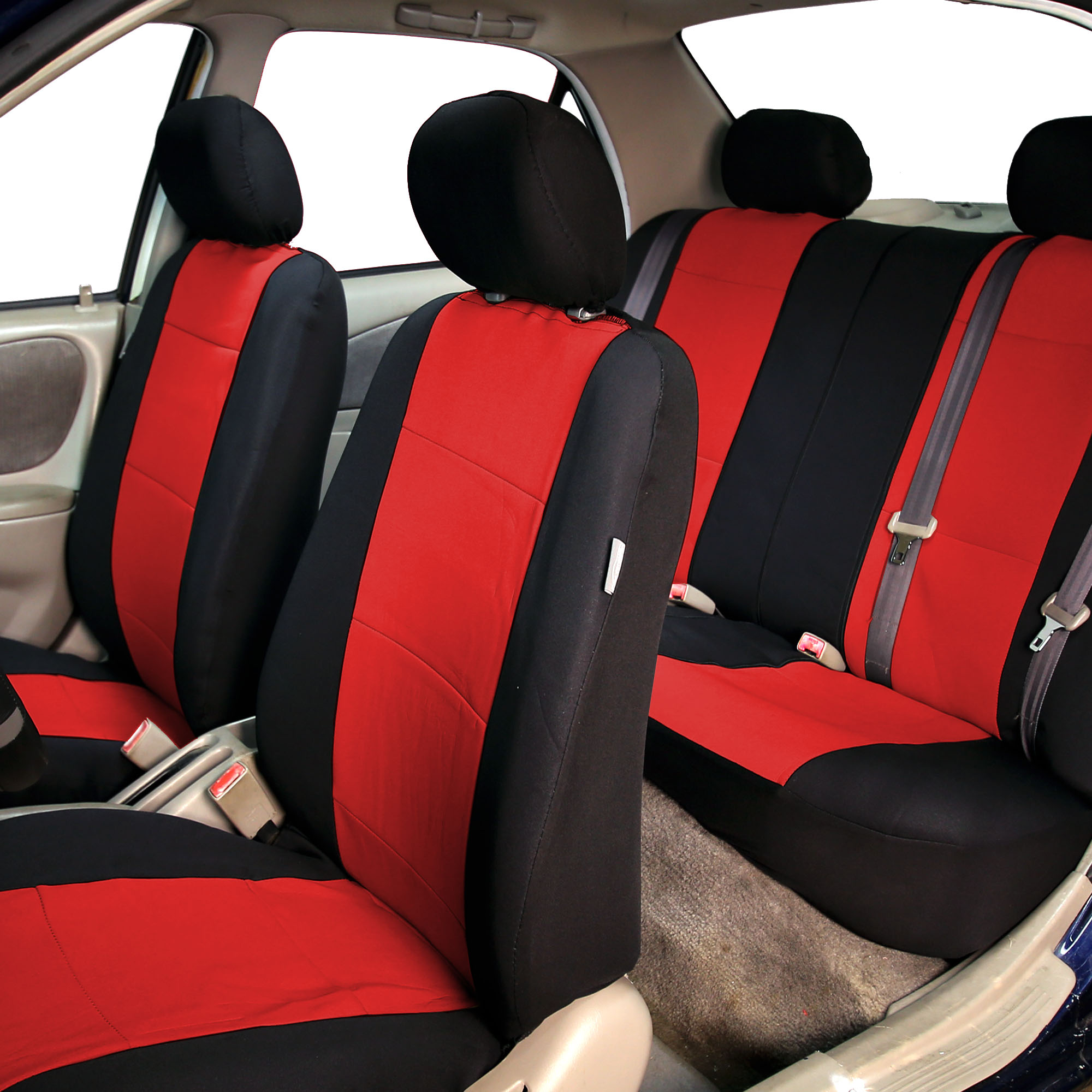 Car-Seat-Cover-Neoprene-Waterproof-Pet-Proof-Full-Set-Cover-With-Dash-Pad thumbnail 50