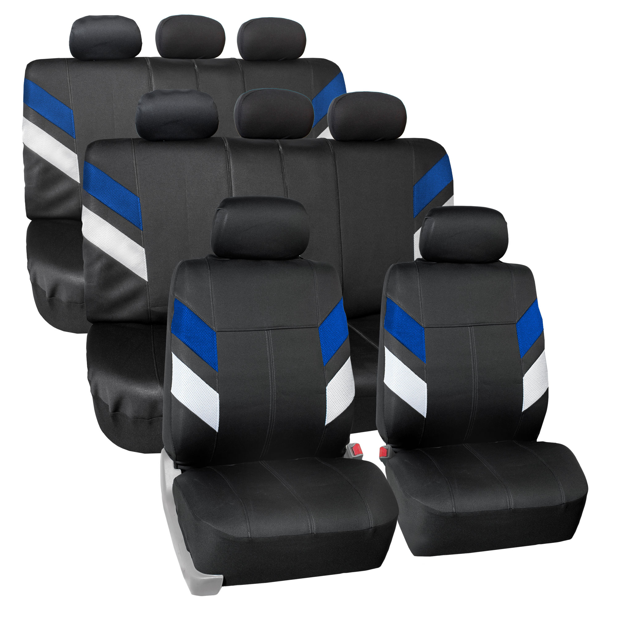 Neoprene 3 Row 8 Seaters Seat Covers