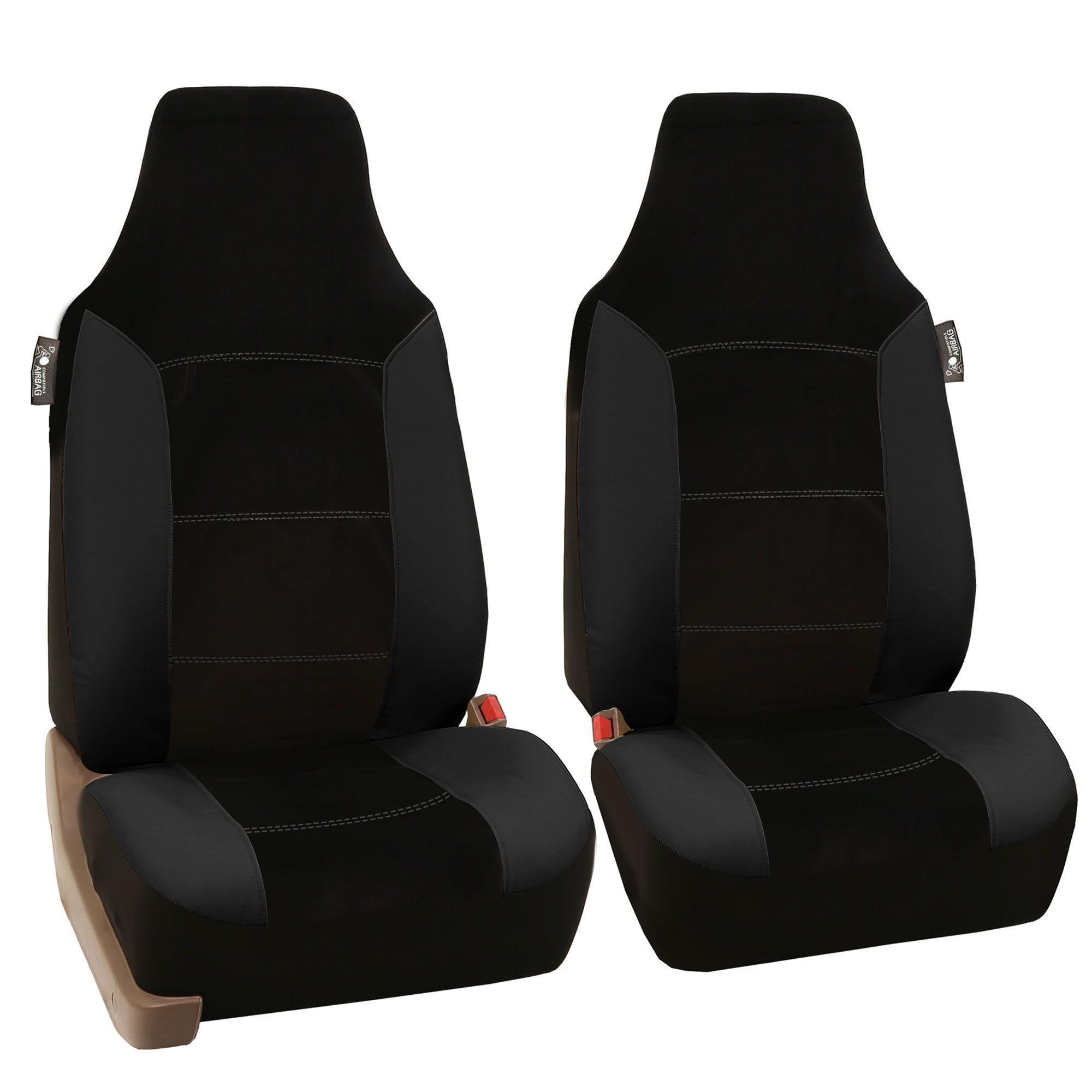 Leather Velour Car Seat Covers Luxury Sports With Floor