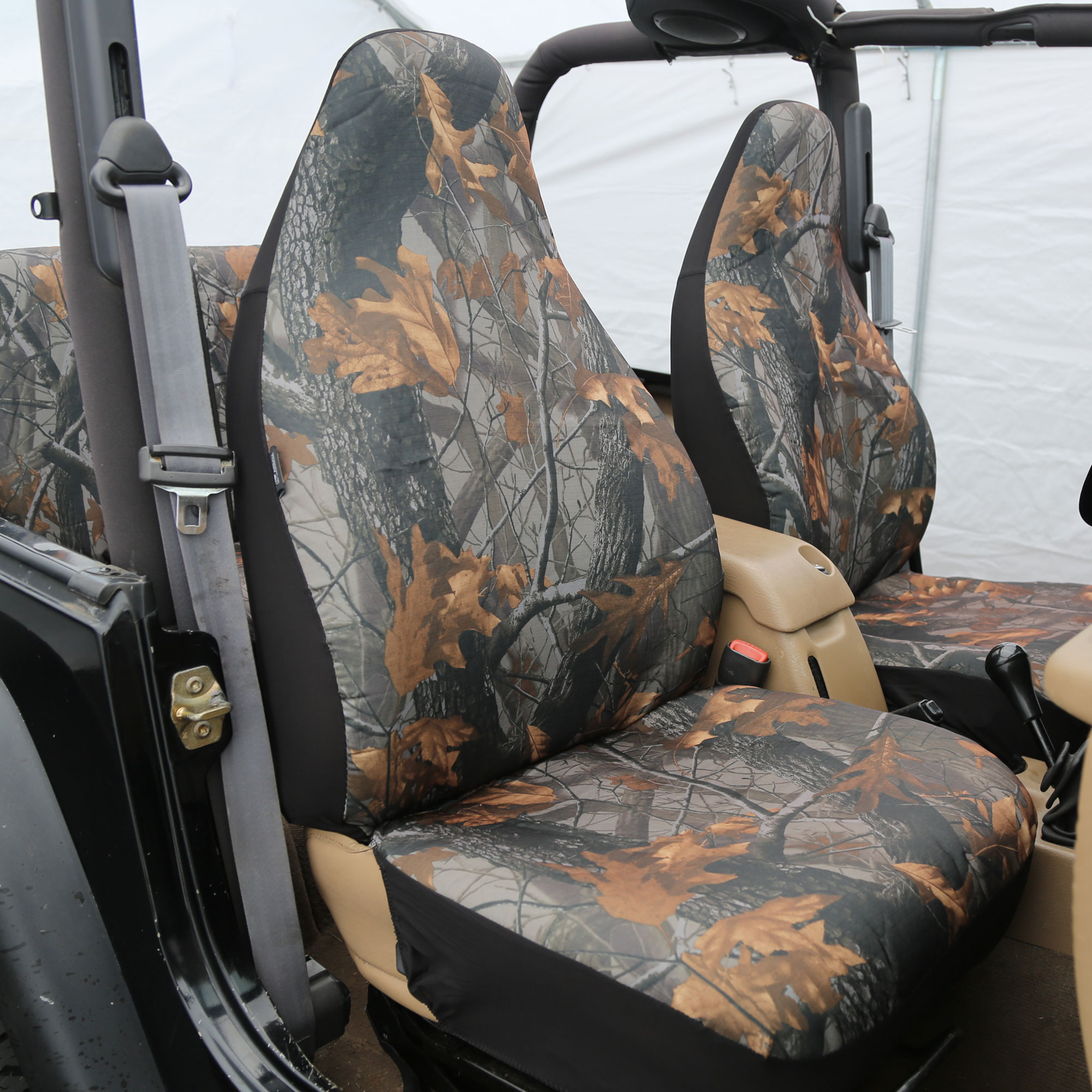 Highback Car Seat Covers Camo Hunting Full Set Jeep SUV
