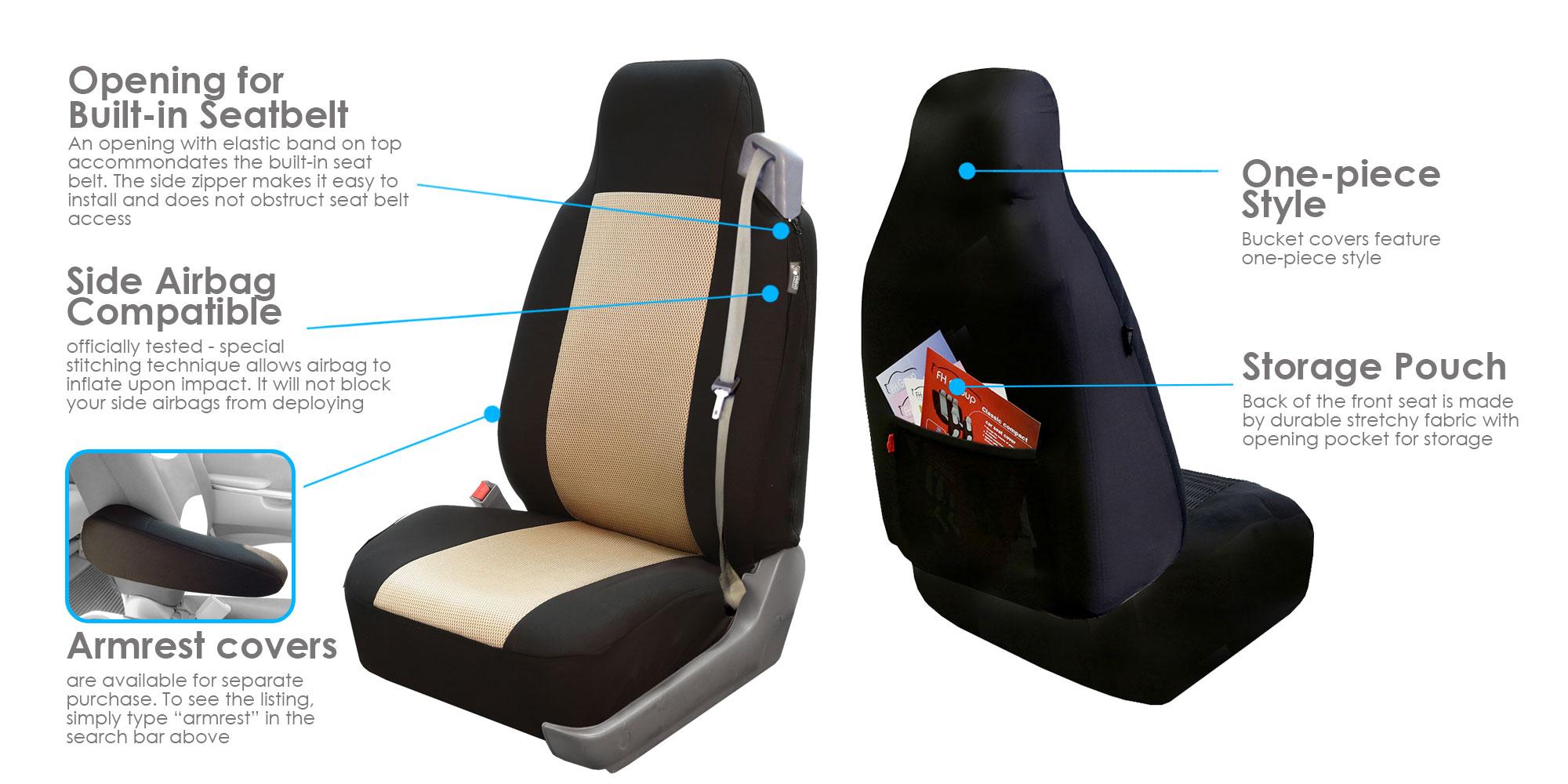 Seat Cushion Pad For Auto Car SUV VAN