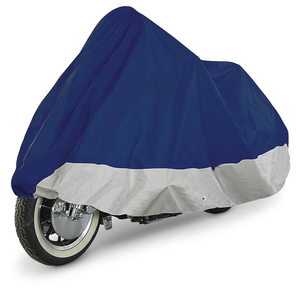 Motorcycle Cover Bike Waterproof Outdoor Rain Dust Proof Small 93*35*46 Inches