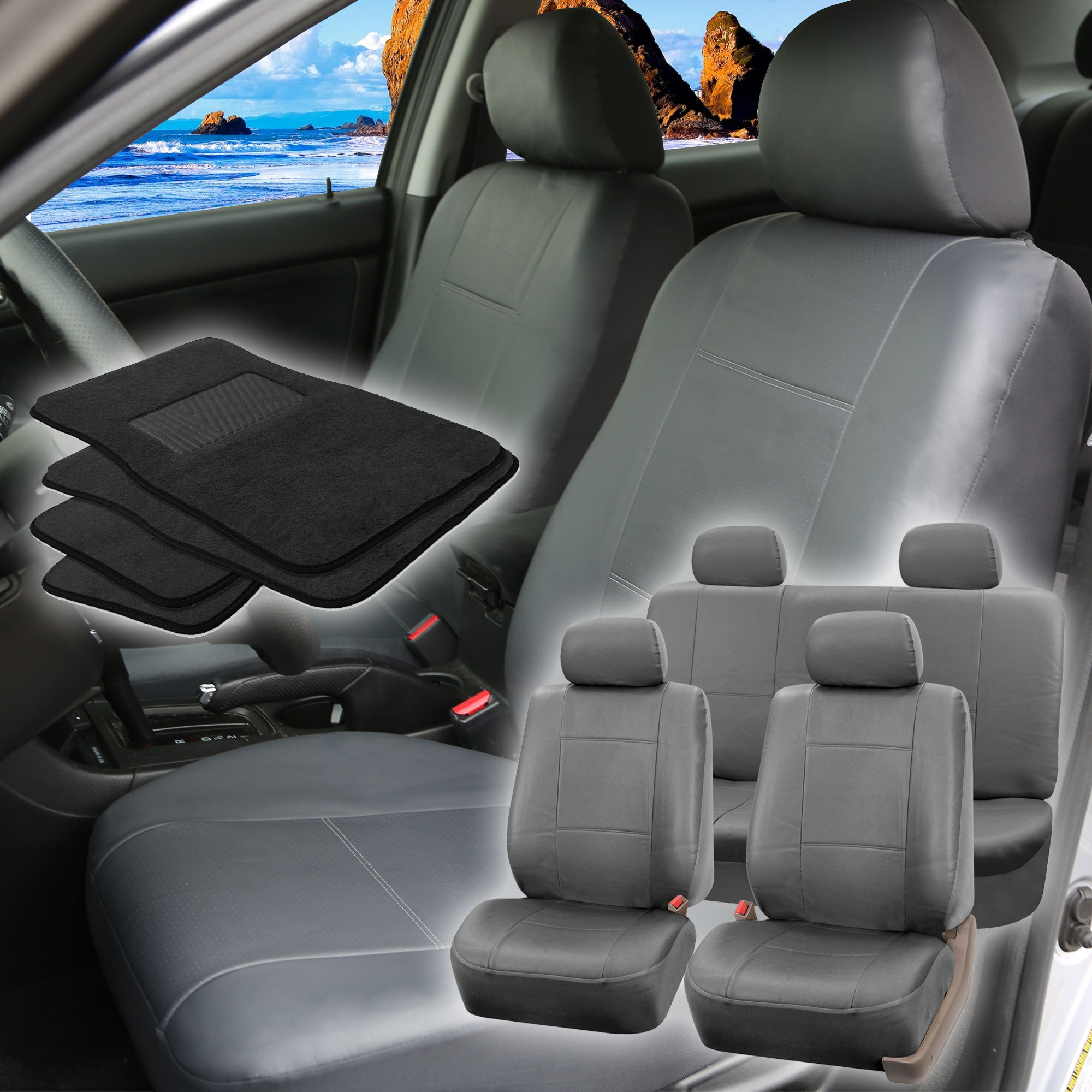 Image Is Loading Faux Leather Car Seat For Auto SUV