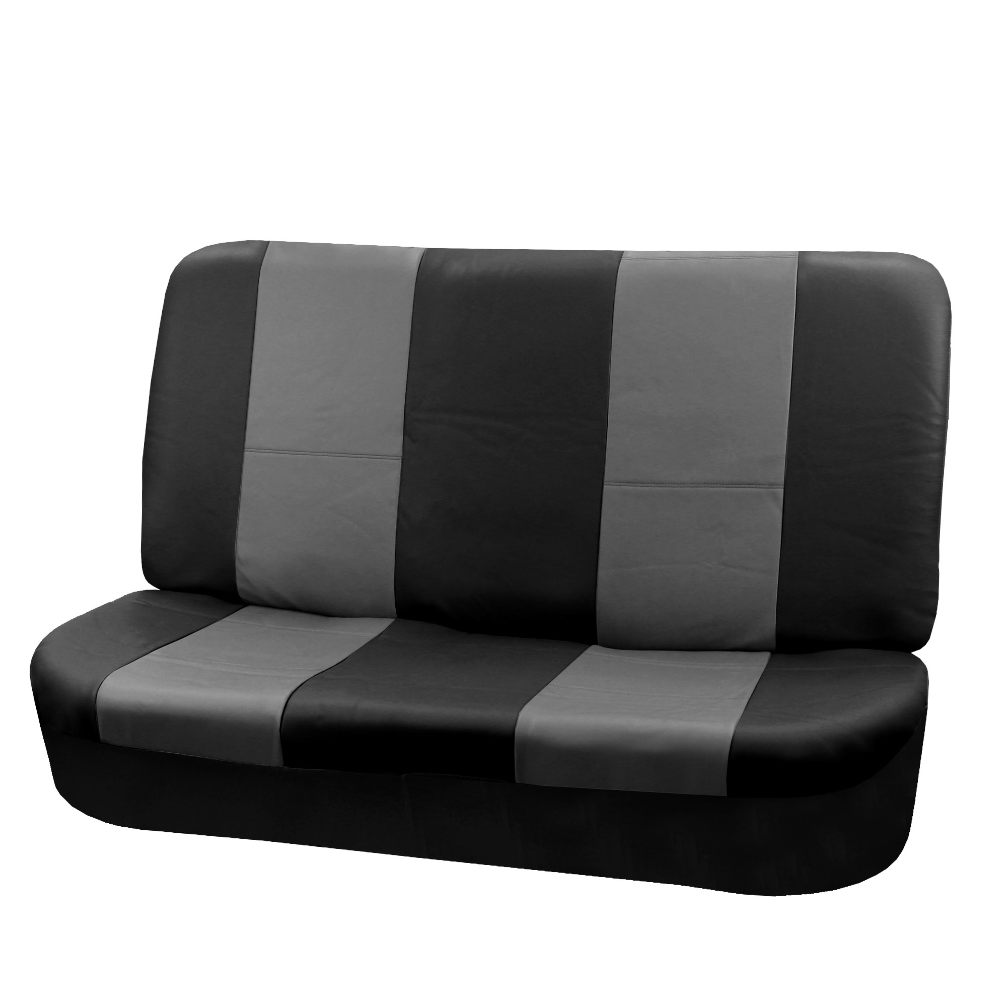 Leather Auto Vehicle Seat Covers With Floor Mats Combo