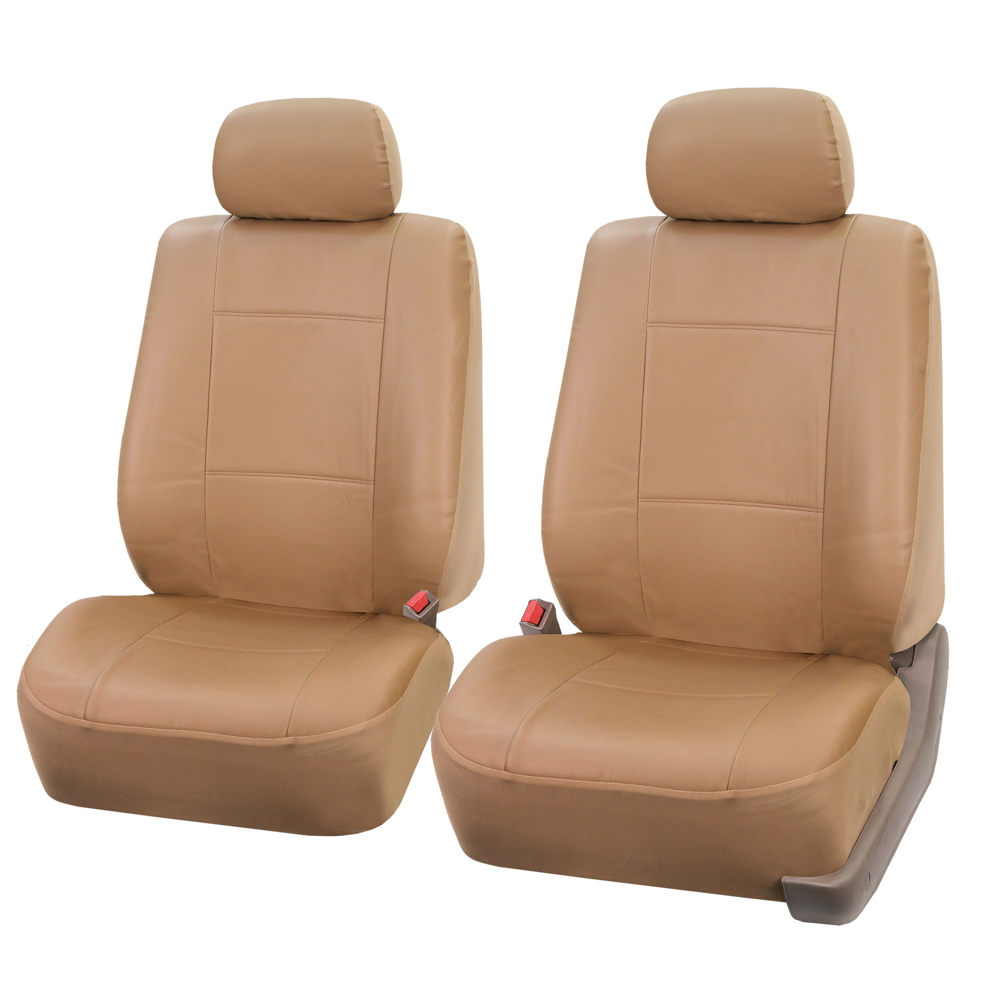 PU Leather Bucket Seat Full Set Covers For