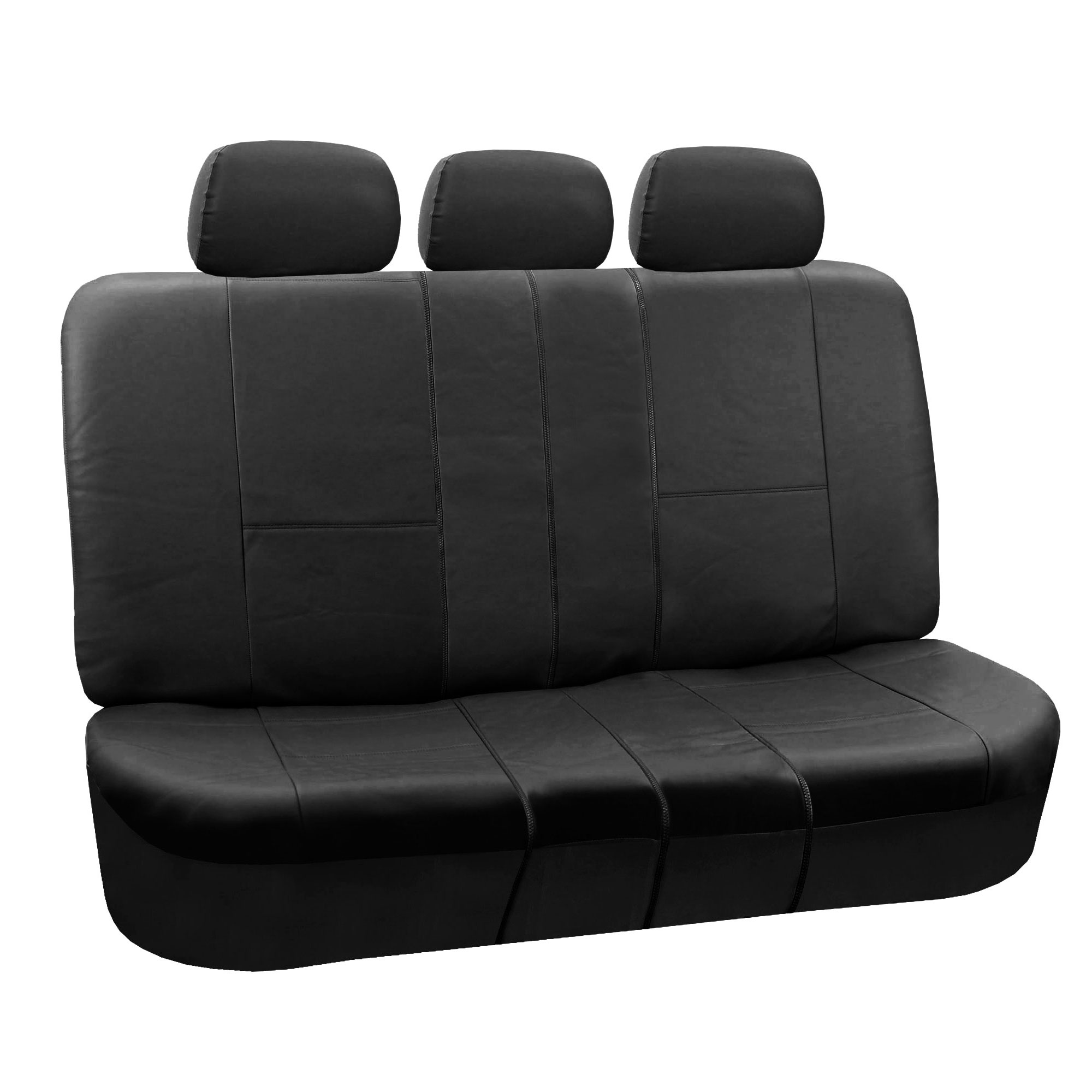 Pu Leather Rear Back Seat Covers Set Top Quality For Suv