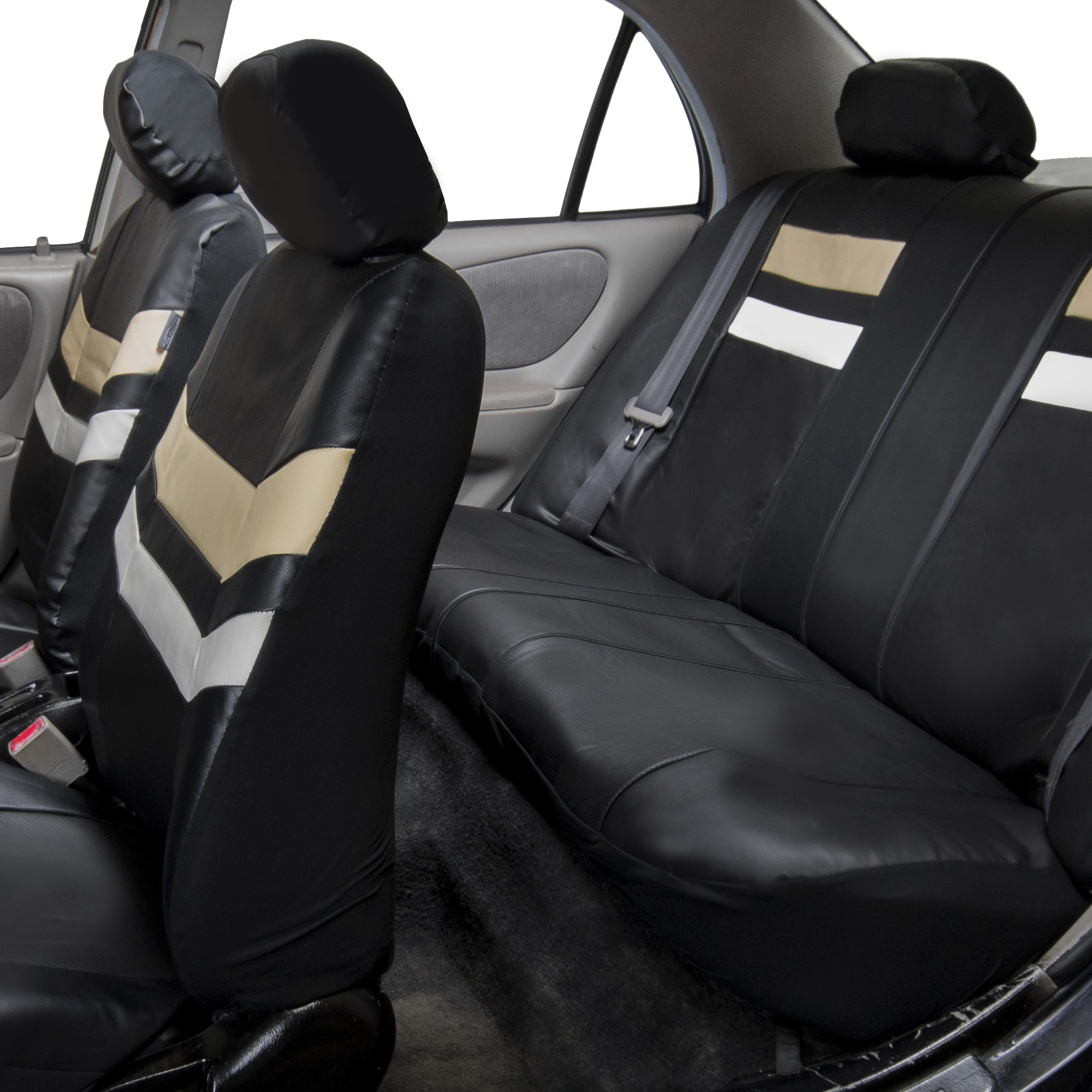 Auto Seat Covers PU Leather For Car Van SUV Truck Top Quality 11