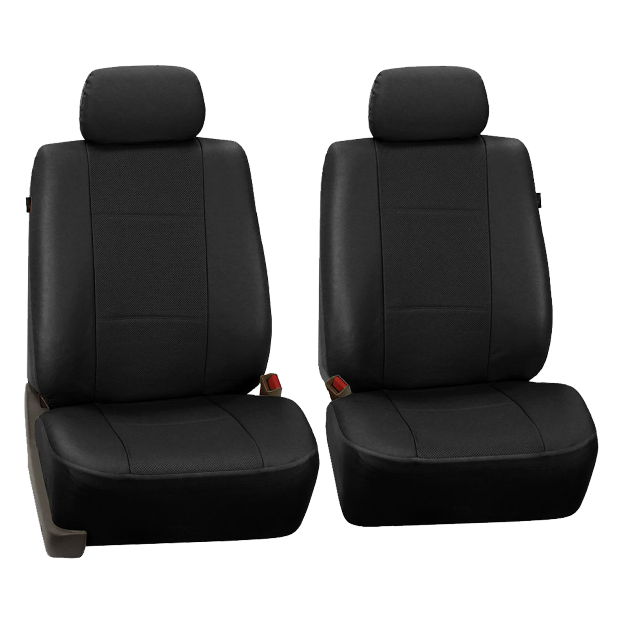 3 Row Car Seat Covers Faux Leather Luxury Top Quality For