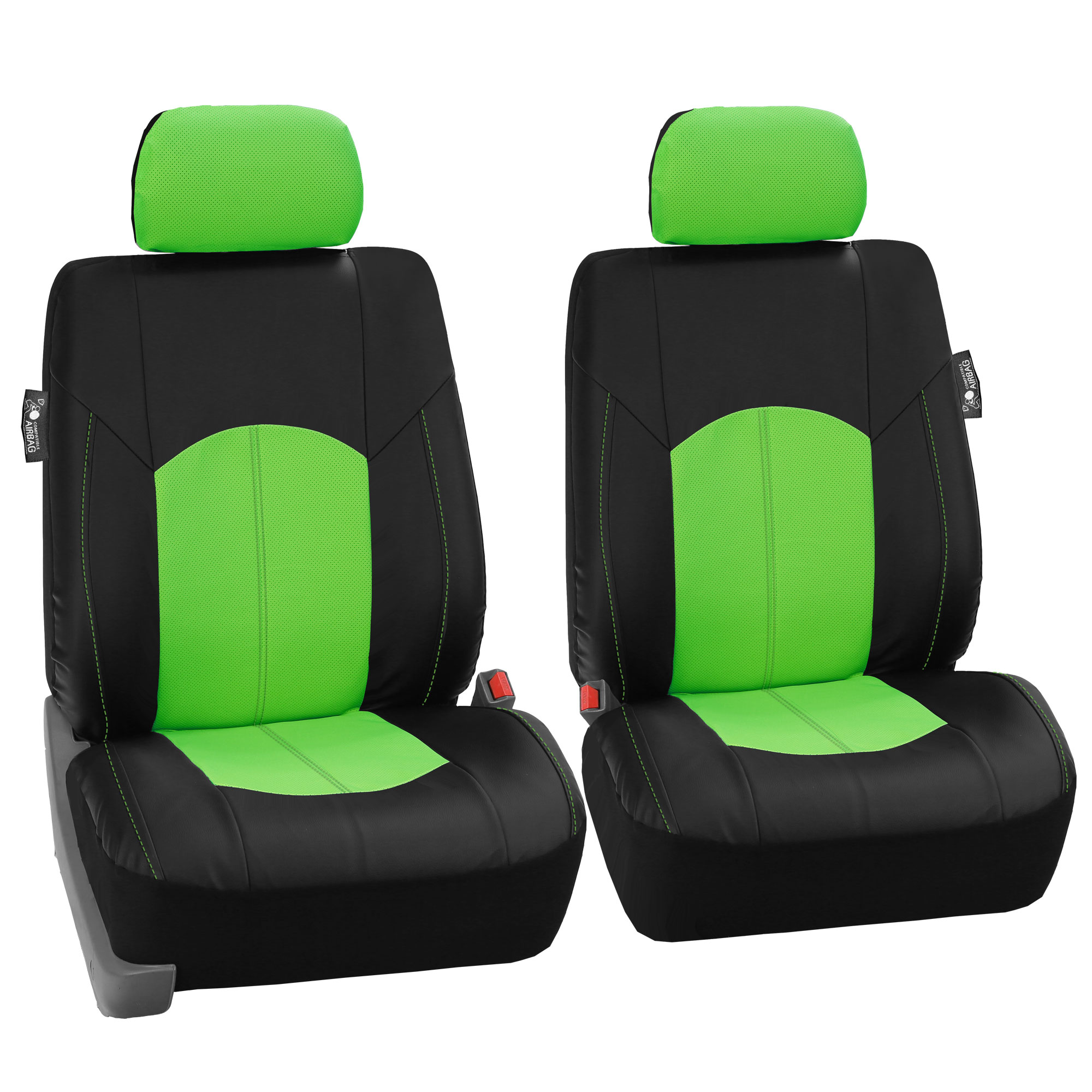 Perforated Leather Car Seat Covers