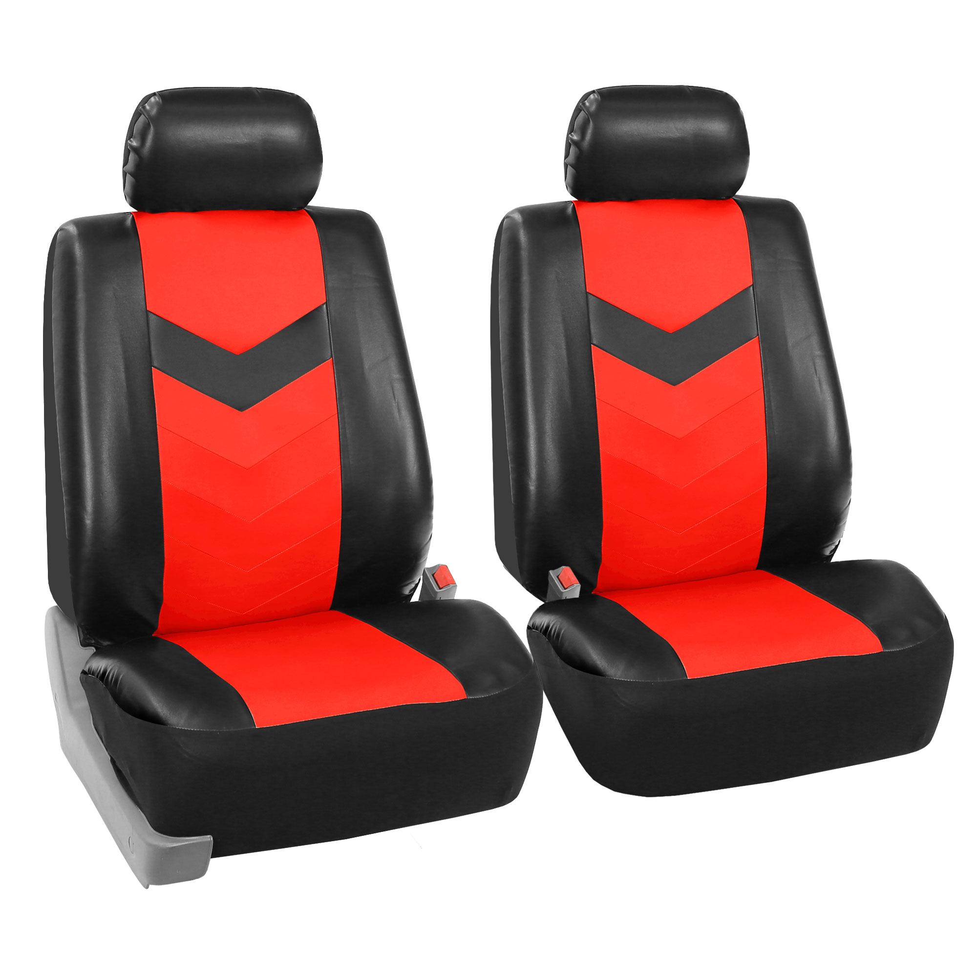Synthetic Leather Seat Covers Car Suv Auto W