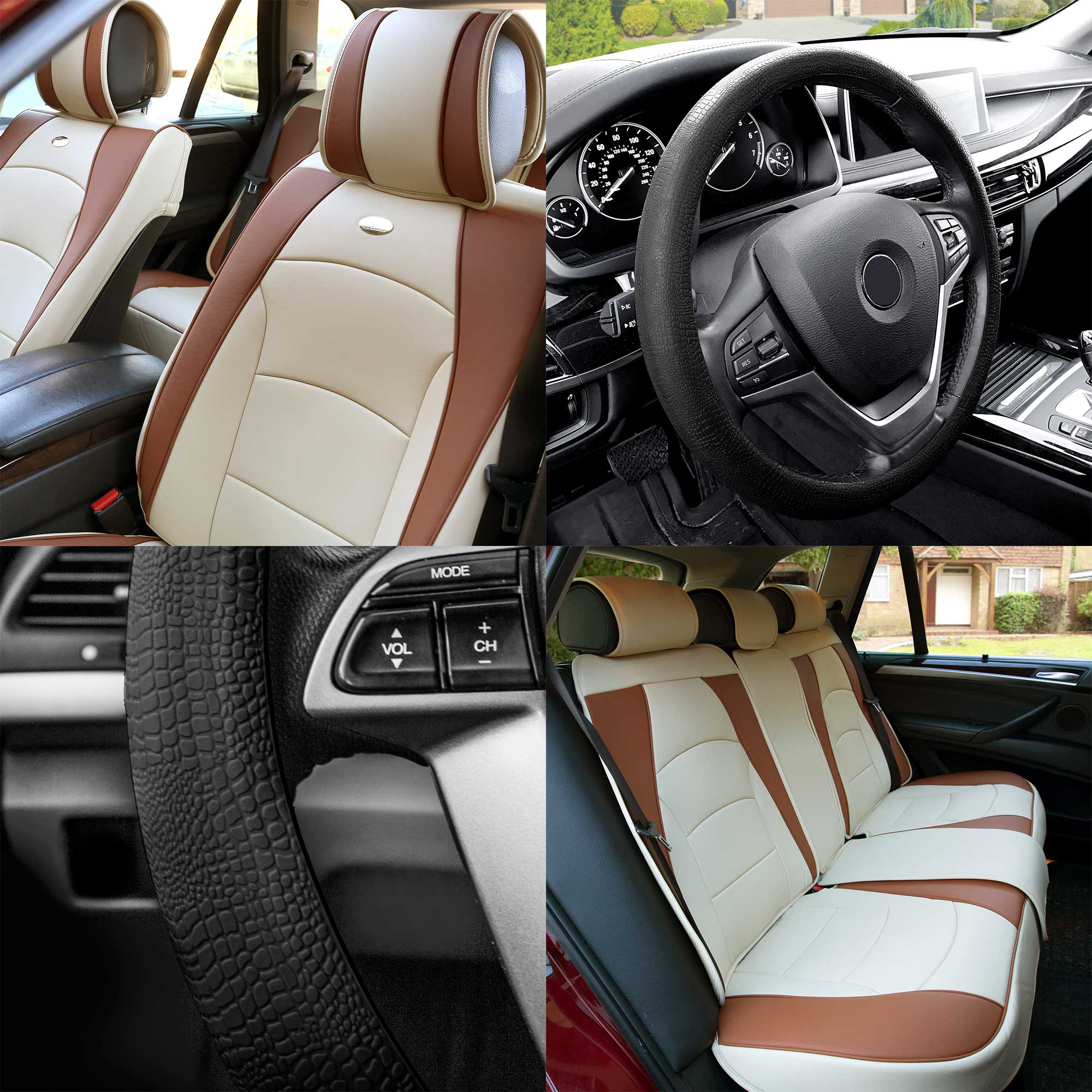 Bmw X1 Full Set Luxury Beige Black Leather Look Car Seat Covers Archives Statelegals Staradvertiser Com