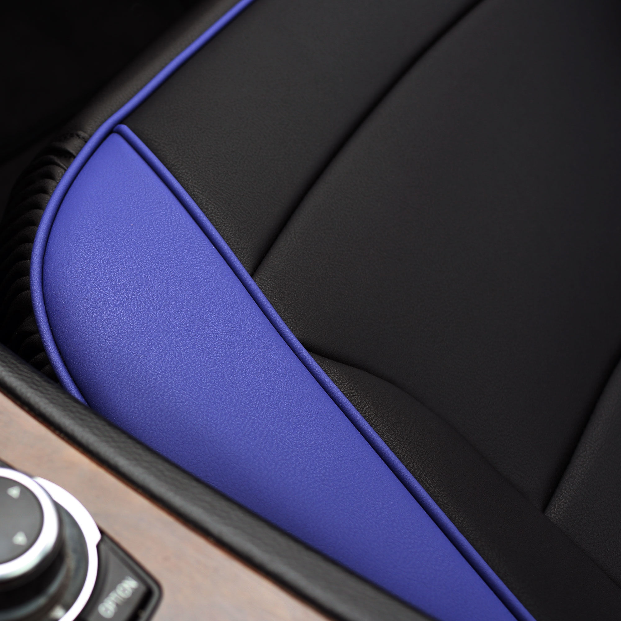 Luxury-Leather-Seat-Cushion-Covers-Front-Bucket-Pair-11-Color-Options thumbnail 22