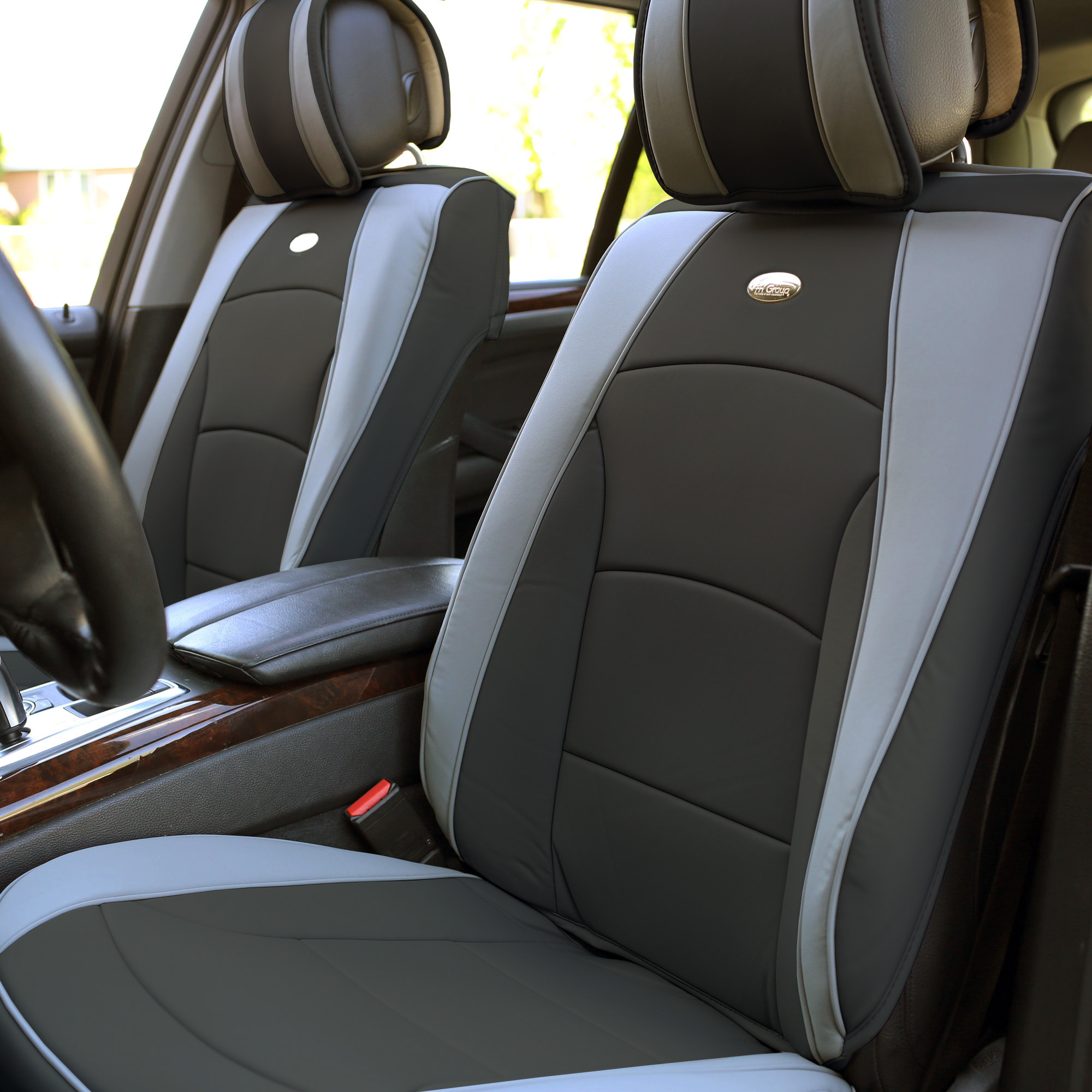 Luxury-Leather-Seat-Cushion-Covers-Front-Bucket-Pair-11-Color-Options thumbnail 33