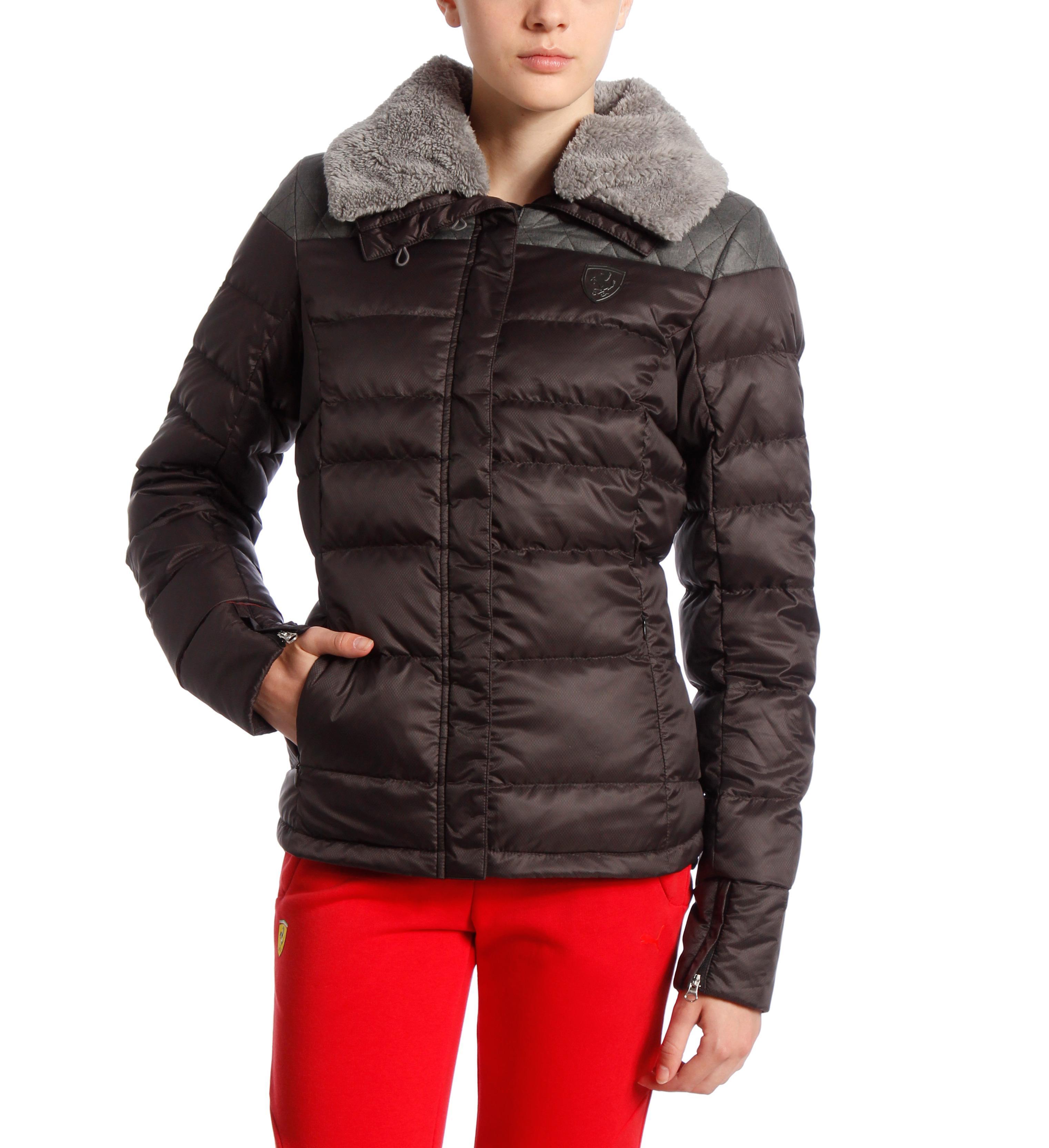 puma ferrari women 39 s down jacket ebay. Black Bedroom Furniture Sets. Home Design Ideas