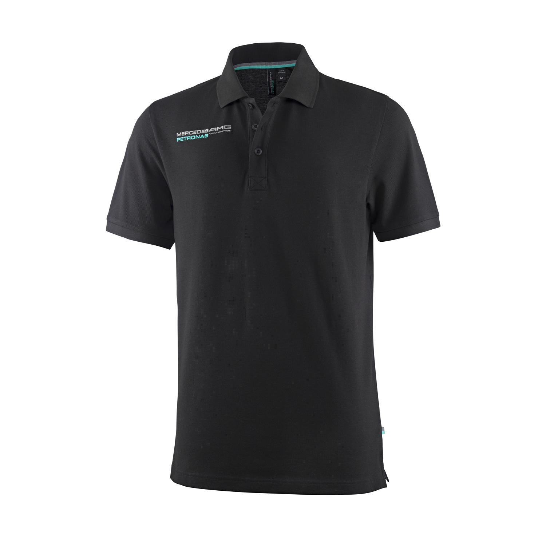 official mercedes amg petronas f1 men 39 s polo shirt ebay. Black Bedroom Furniture Sets. Home Design Ideas