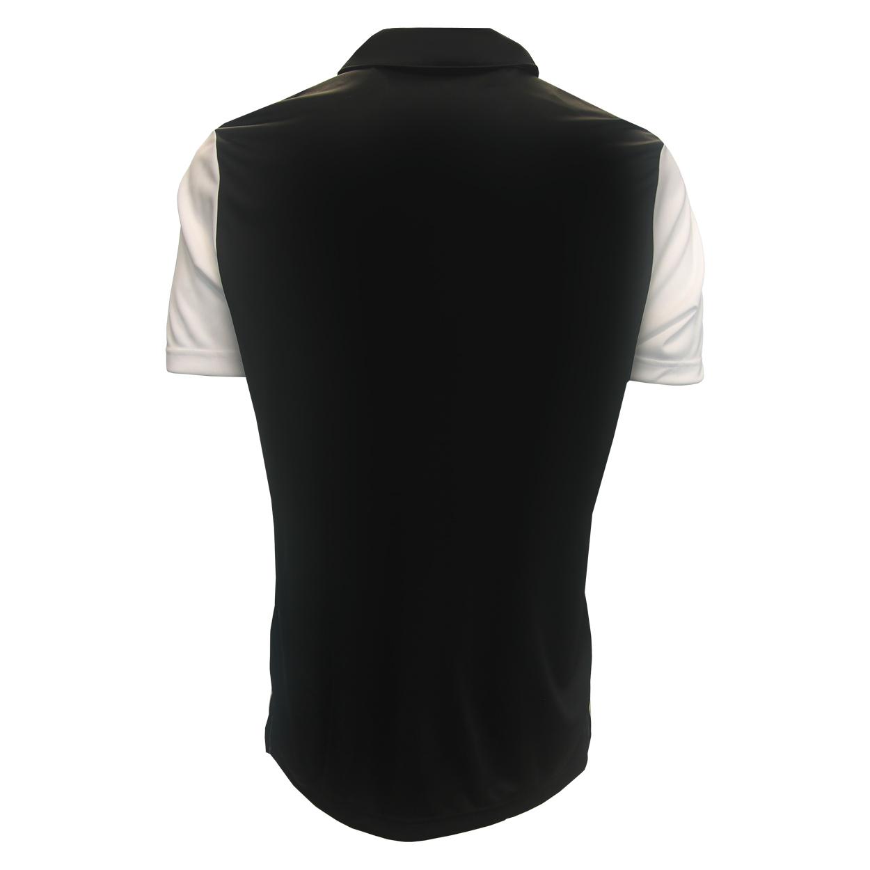 Adidas-Golf-Men-039-s-Black-Stripe-Polo-Shirt-NEW thumbnail 6