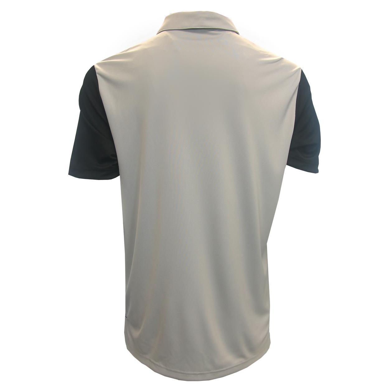 Adidas-Golf-Men-039-s-Black-Stripe-Polo-Shirt-NEW thumbnail 4