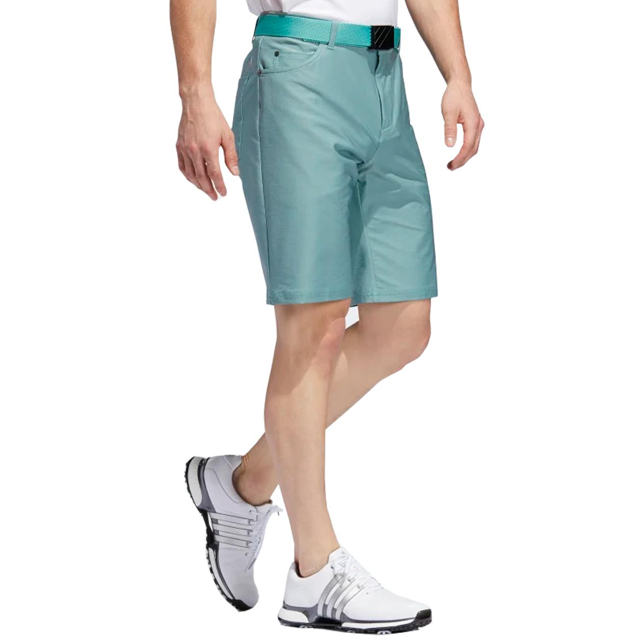 Adidas-Golf-Men-039-s-Ultimate365-Heather-5-Pocket-Shorts-Brand-New thumbnail 9
