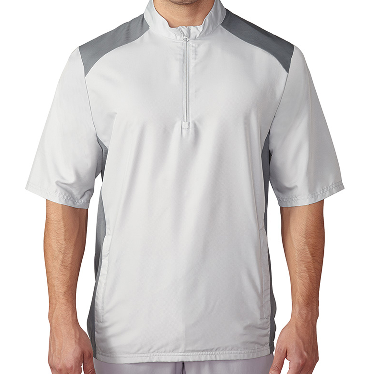 Adidas Golf Men's Club Short-Sleeve Windshirt