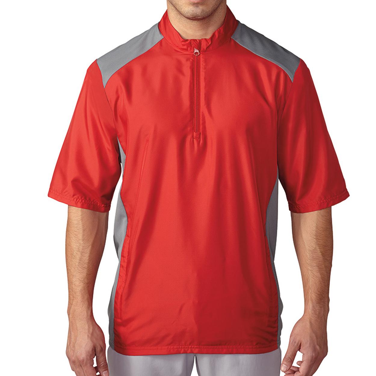 Adidas Club Short-Sleeve Windshirt