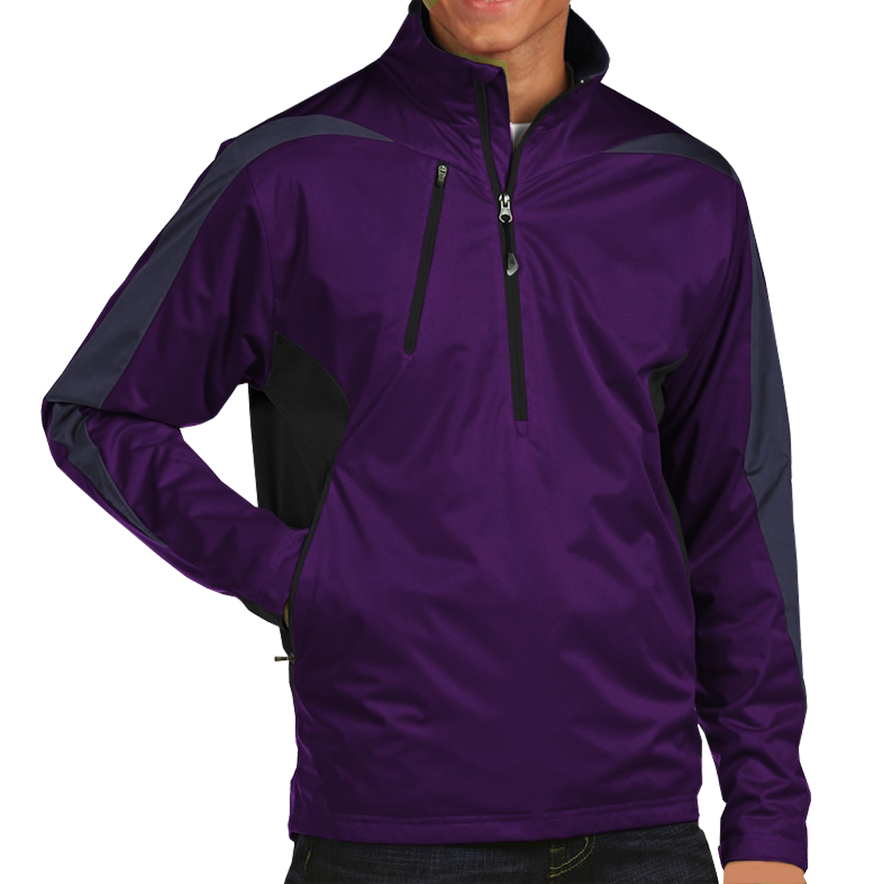 Antigua Discover 1/4-Zip Golf Pullover
