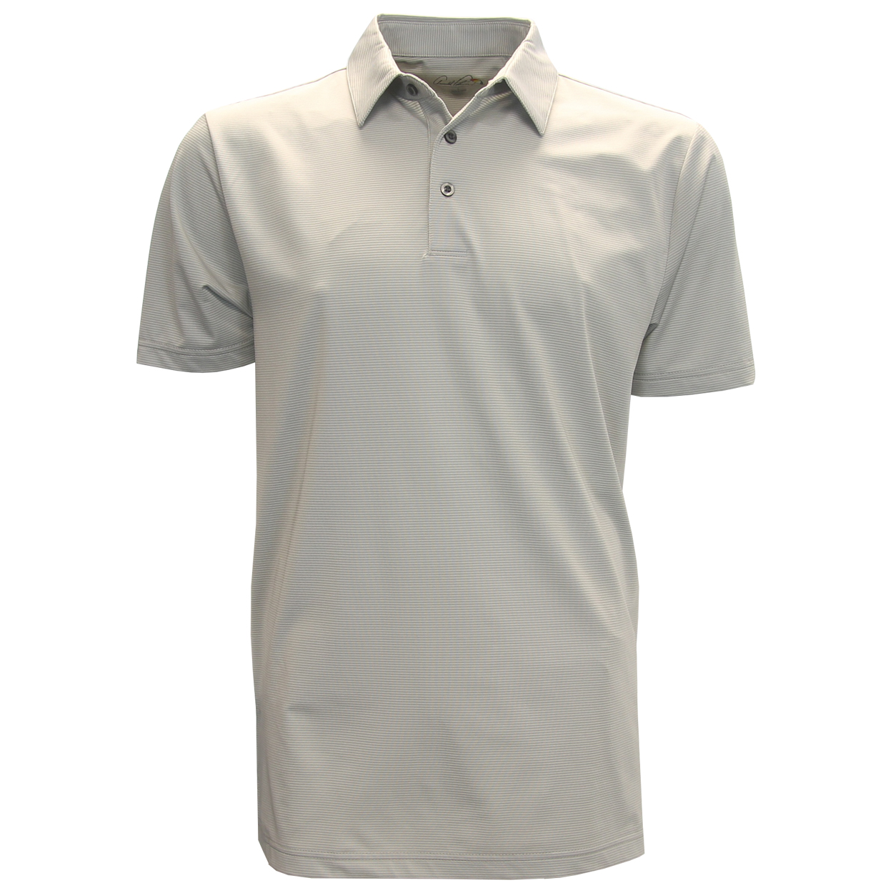 Arnold Palmer Majors Striped Polo Golf Shirt