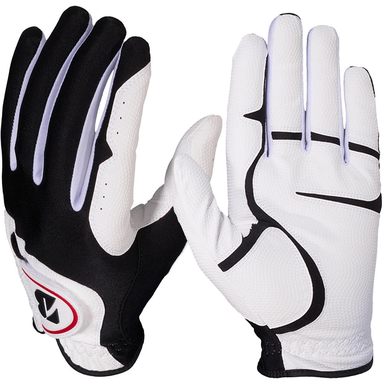 Bridgestone-Men-039-s-EZ-Fit-White-Golf-Gloves-3-Pack-NEW thumbnail 5