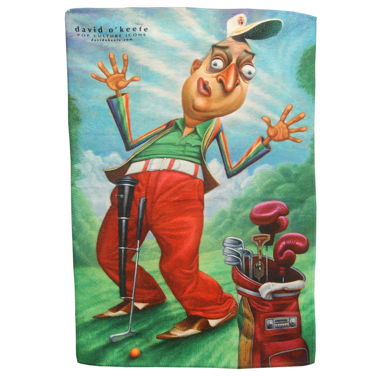 Dynamic Brand Caddyshack Tribute Hidef Microfiber Golf Towel