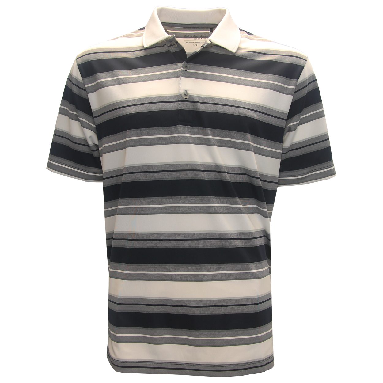 Columbia Sportswear Omni-Wick Level Stripe Polo Golf Shirts