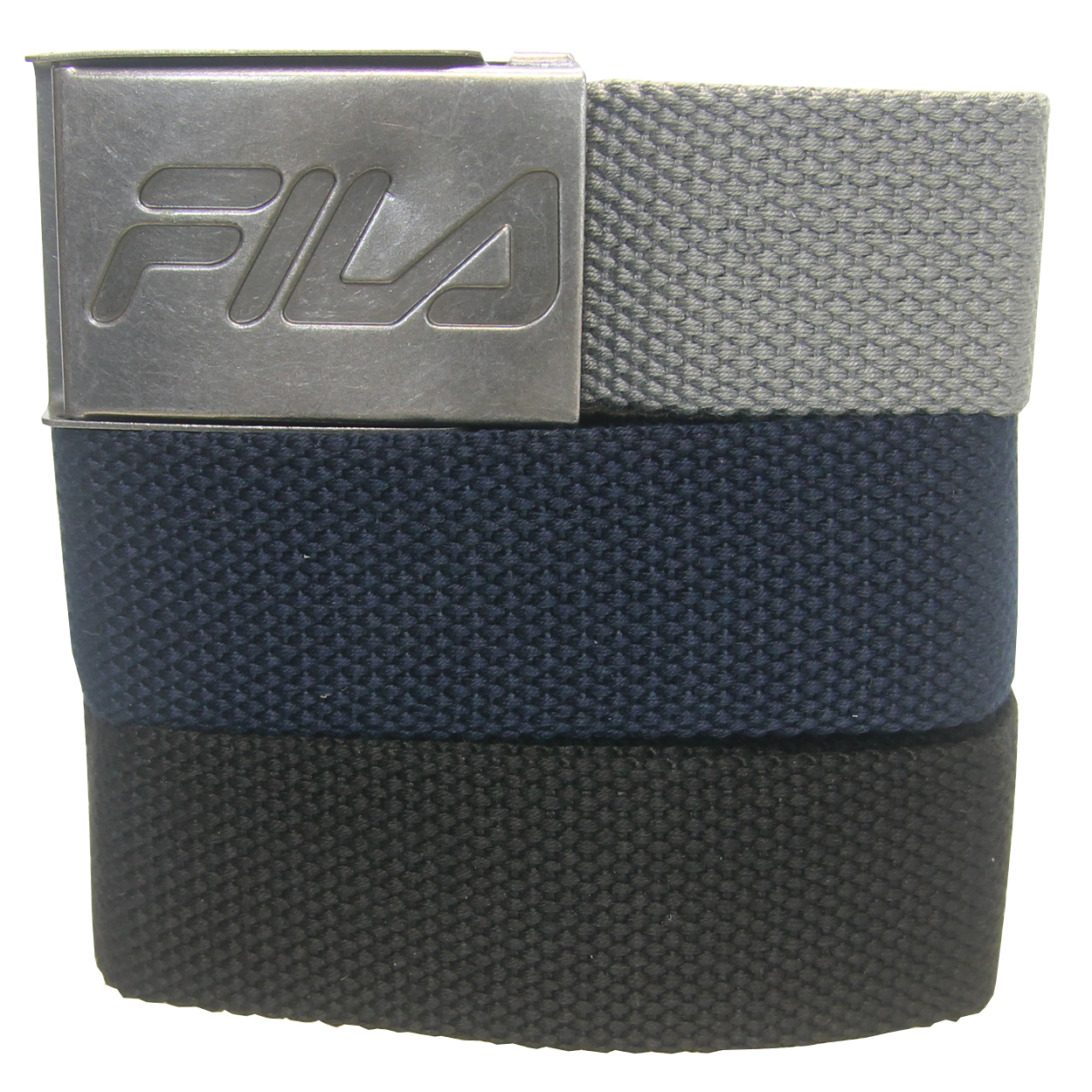 Fila Golf 3-In-1 Web Belt, Cut To Fit Up To Size 42