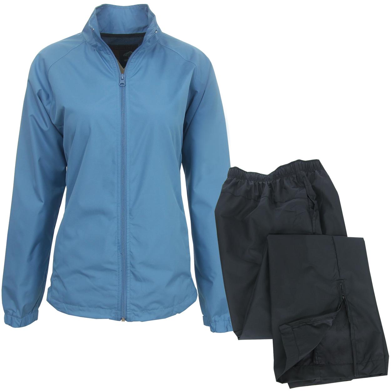 Forrester Women's Packable Waterproof Golf Rain Suit