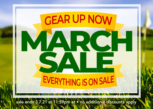 Welcome March! Everything is On Sale