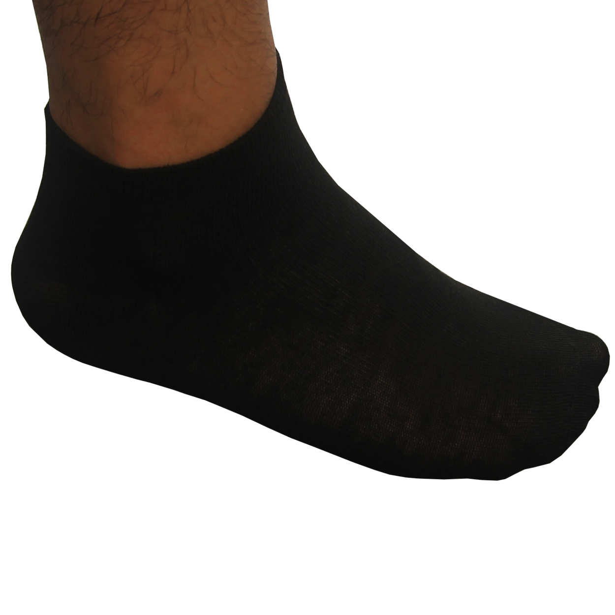 Hollywood Pro First Quality Low Cut Golf Socks, 6 Pair