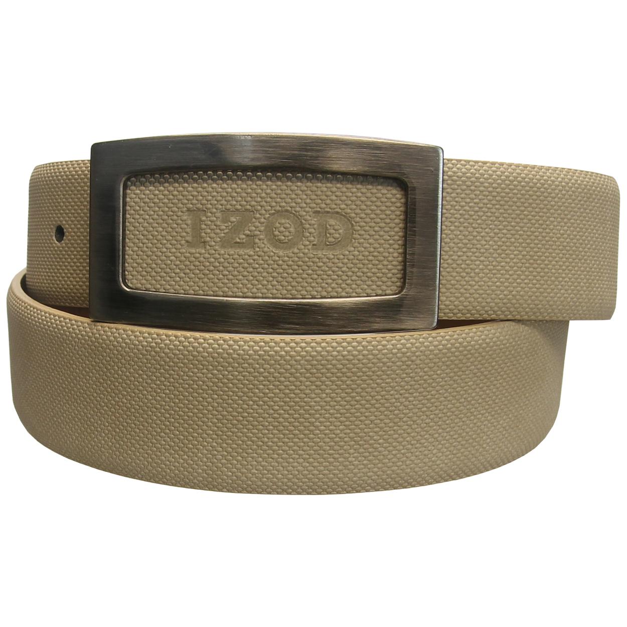 Izod Genuine Leather Textured Belt