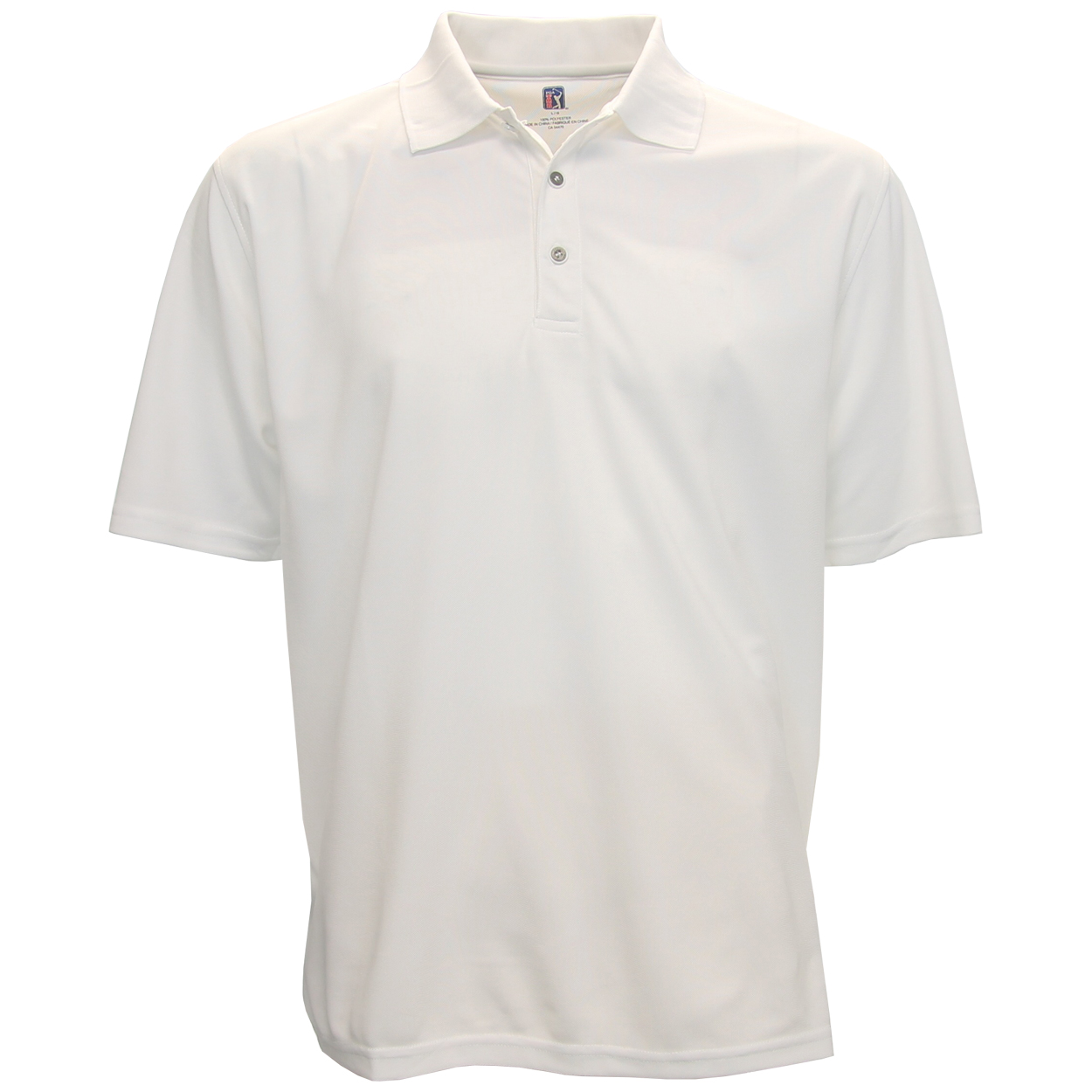 PGA Tour Solid Polo Shirt...