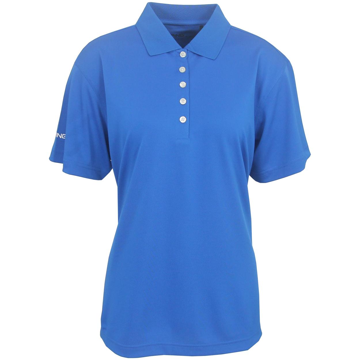 Ping women 39 s albatross performance polo golf shirt brand new for Golf polo shirts for women