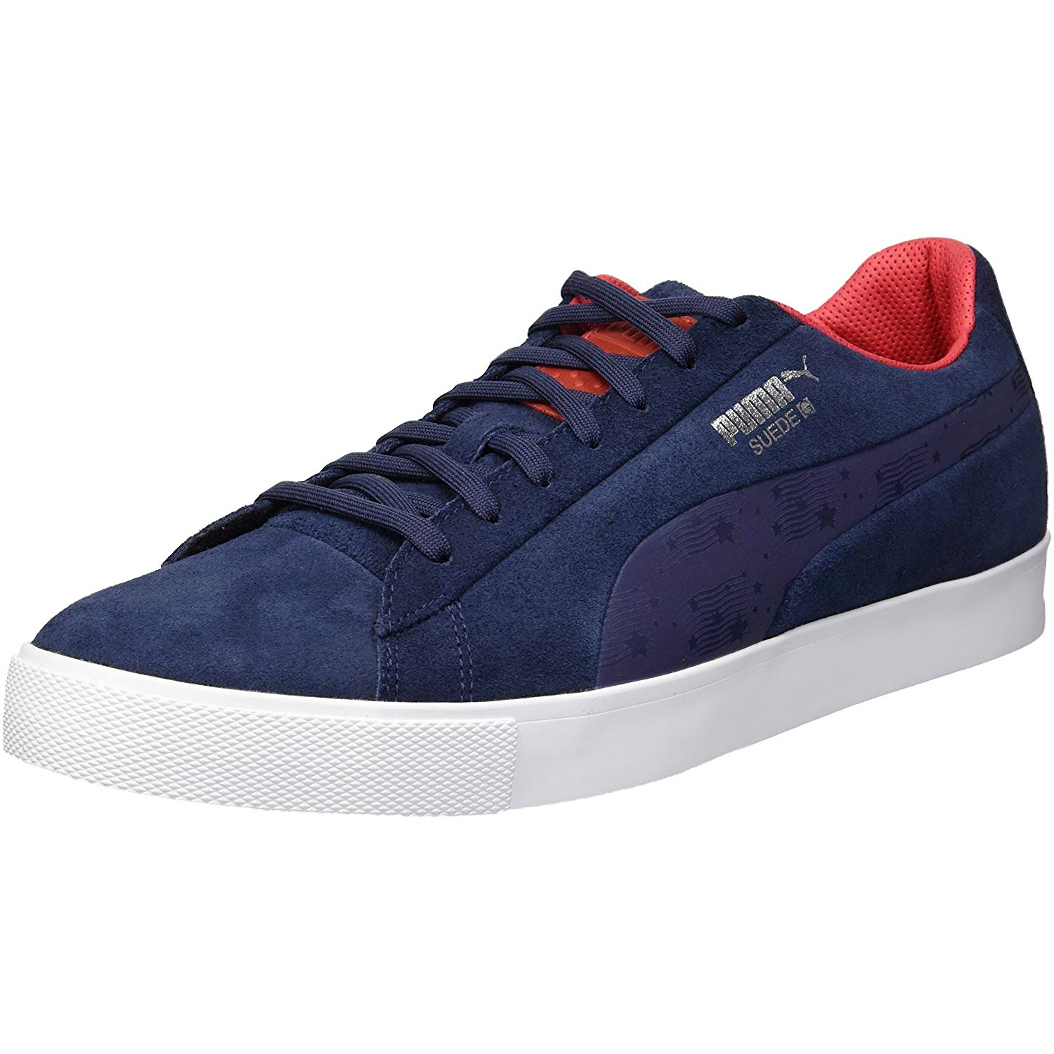 Details about Puma Golf Mens Suede G Ryder Cup Edition Team Spikeless Golf Shoe NEW