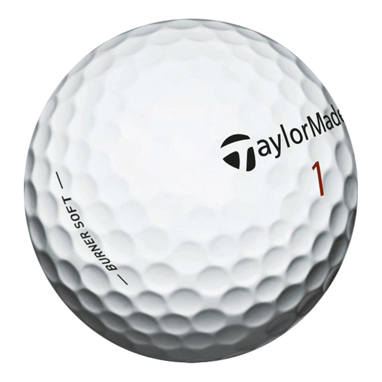 The TaylorMade Burner Soft Golf Balls feature:2 piece Ionomer construction. REACT core provides maximum distance off the tee, yet is incredibly soft. Ionomer cover for responsive short game performance.60 compression design means you don't have to have a pro's swing speed to get the Burner to fly! Sold in manufacturer's packaging.