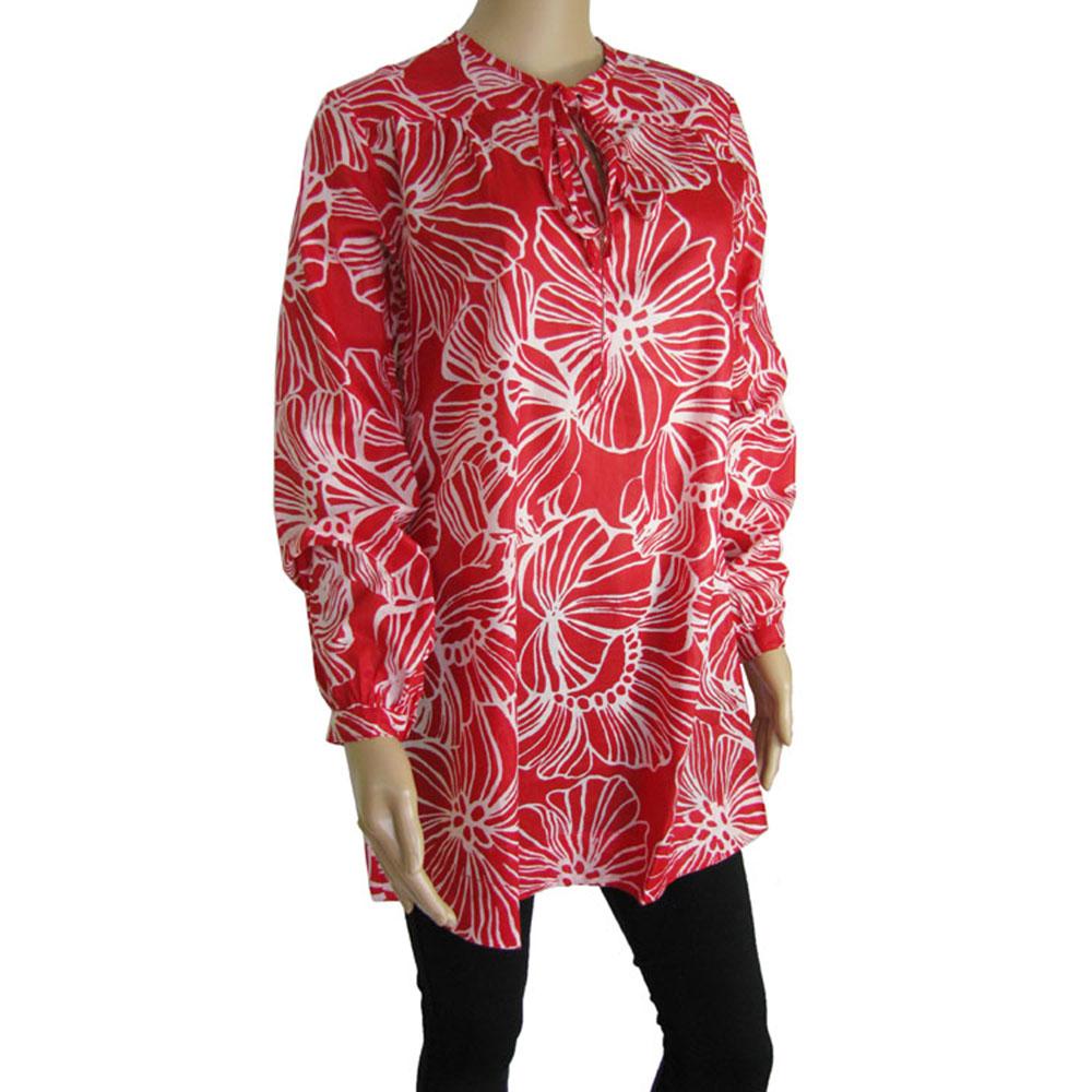 Antik Batik Womens 'Chris' Long Tunic Shirt/Dress