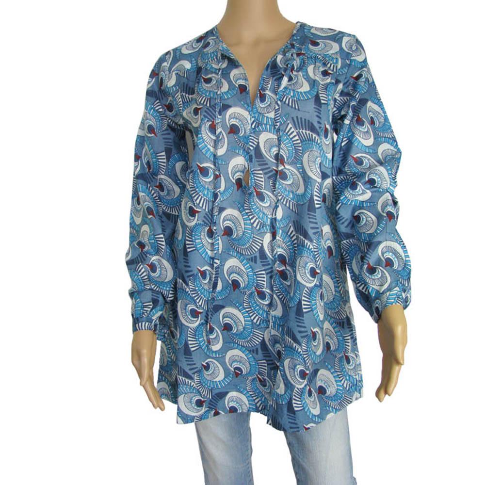 Antik Batik Womens 'Eclypse' Long Tunic Shirt/Dress