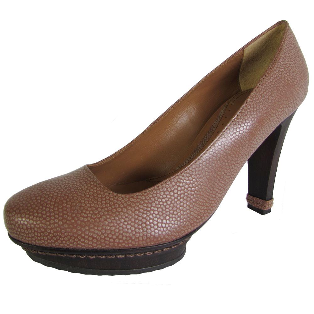 "new black/white 6""High Wedge Heel 2""Platform Round Toe Sexy Shoes Size 5.5"