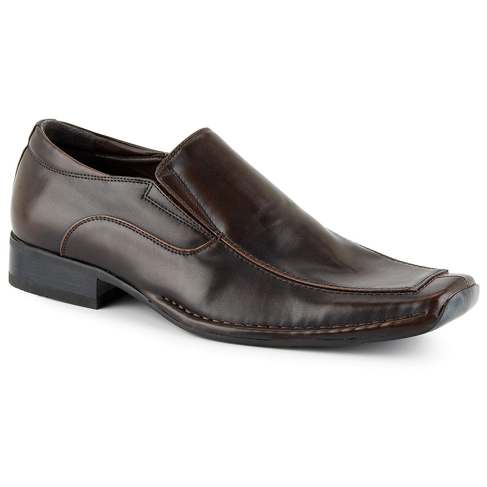 Mens Square Front Shoes