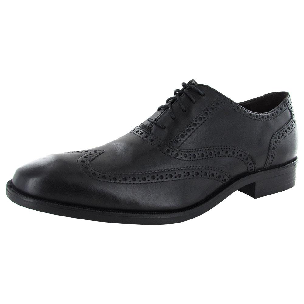 Cole Haan Mens Batlin Wingtip Oxford II Leather Dress Shoe