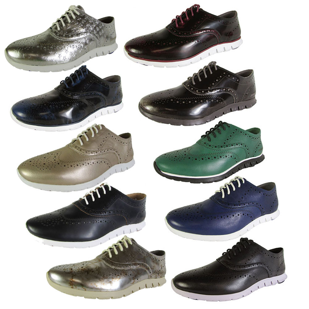 Cole Haan Women Shoe ZeroGrand Wingtip Oxford Casual Shoe Women c79569